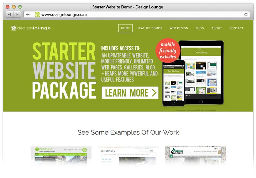 Cheap Website NZ Demo