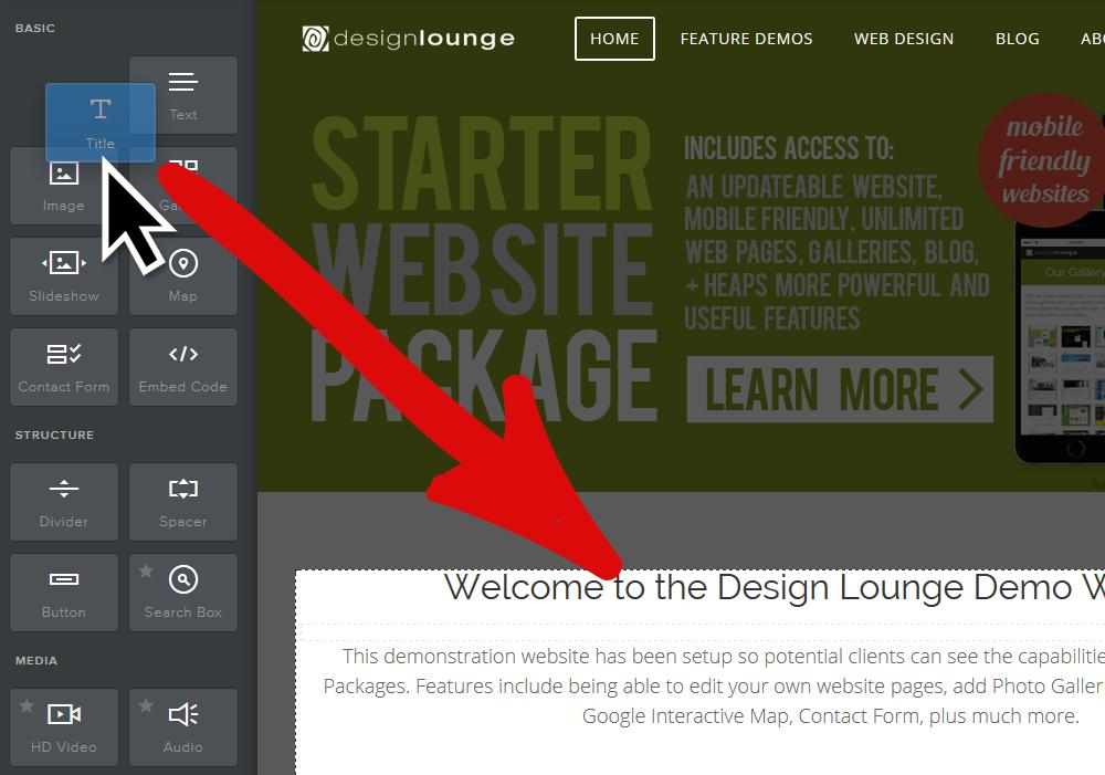cheap website nz drag and drop editor