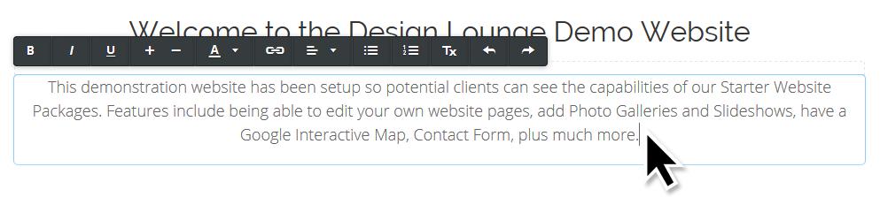 cheap website nz inline text editor