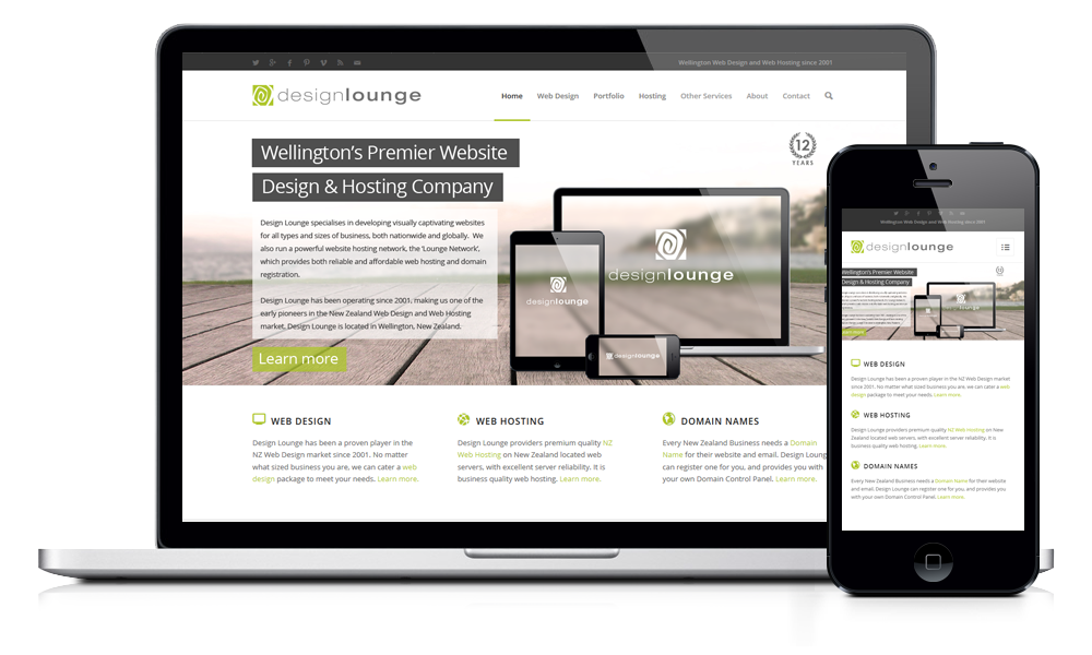 Responsive mobile web design